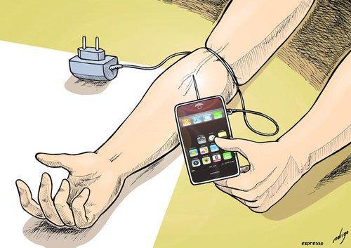 celular no braço